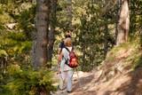 seniors trekking poster