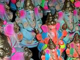 idols of hindu god ganesh poster