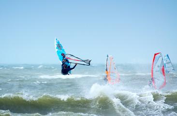 extreme windsurfing