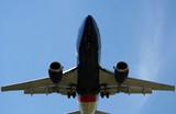 aeroplane landing poster