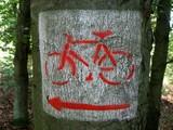 bike sign poster