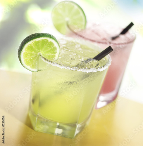 Fotobehang Cocktail margaritas