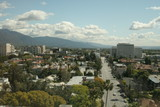 pasadena,california,downtown,cityscape,skyline,str poster