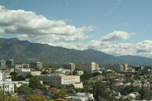 pasadena,california,downtown,cityscape,skyline,str