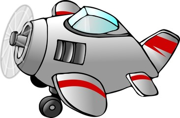 cartoon airplane