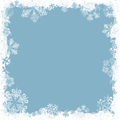 christmas cd cover blue