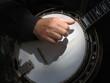 Leinwanddruck Bild - banjo