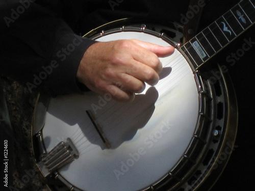 Leinwanddruck Bild banjo