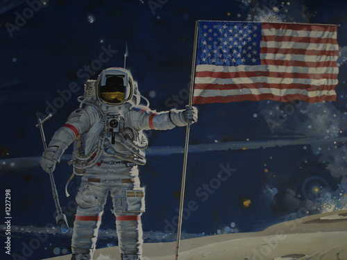 man on the moon - 1227298