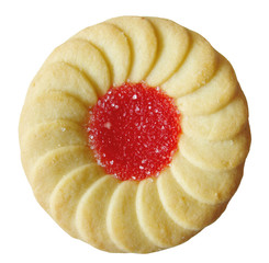 jelly filled cookie