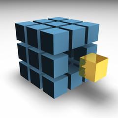 golden block