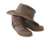 Leinwanddruck Bild - boots and hat-brown