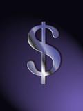 dollar violet poster