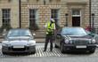 parking attendant, traffic warden, getting ticket - 1240211