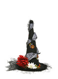 halloween witch hat poster