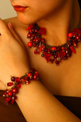 beaded jewels