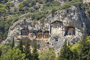 lykian rock tombs