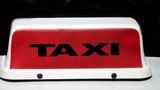 abstract,sign/symbol.taxi sign/light.taxi poster
