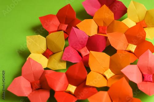 fototapete origami blume papier karton vergn gen pixteria. Black Bedroom Furniture Sets. Home Design Ideas