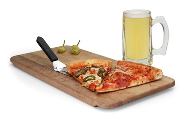beer & pizza