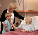 rodinné návštěvě hospice