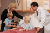visiting nursing home poster