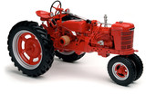 red tractor on white - 1247835