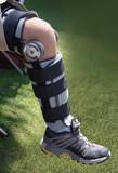 knee injury poster