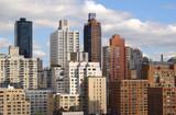 generic new york skyline poster