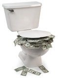 flush with cash poster