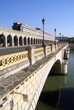 paris pont de bercy poster