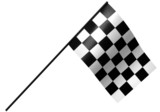 chekered racing flag