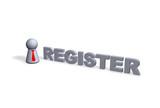 register poster