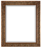 blank picture frame poster
