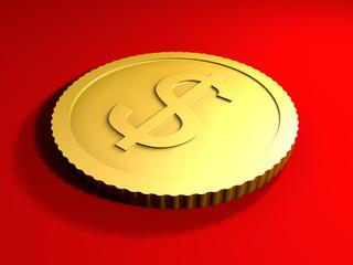 generische dollar münze
