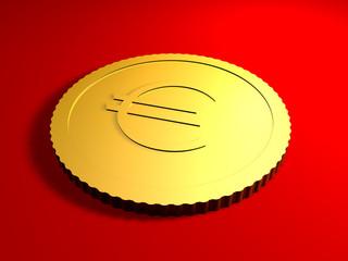 generische euro münze