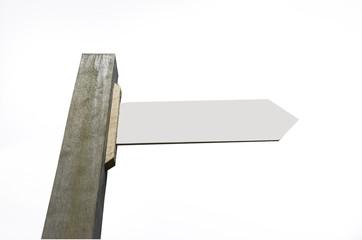signpost cutout