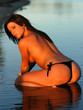 girl in bikini bottom