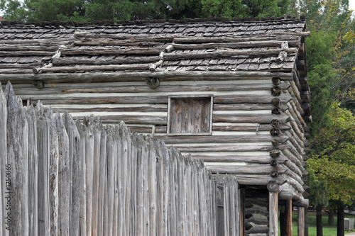 poster of rustic cabin