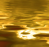 liquid gold background poster