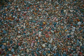 colored rocks
