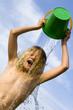 la douche improvisée