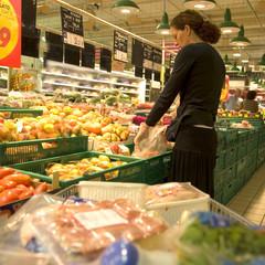 promenade au supermarché