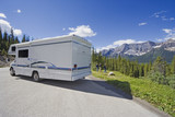motorhome side view and wide angle poster