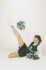 preteen cheerleader