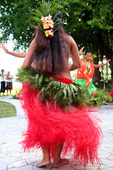 tahitian woman dancing