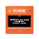 fire alarm button poster