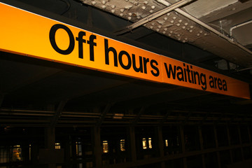 off hours waiting area