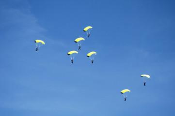 skydiving team 1