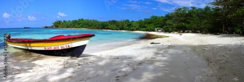 Fotobehang Centraal-Amerika Landen winnifred beach, jamaica